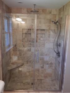 Semi Frameless Shower Door