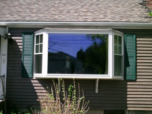 Bay Window Completed